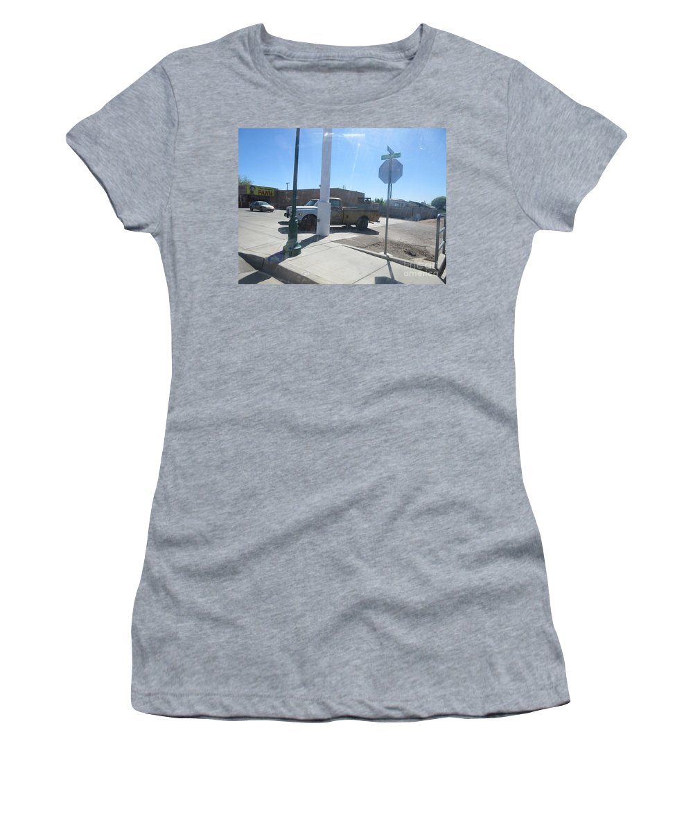 Antique Women's T-Shirt featuring the photograph Antique Chevrolet Truck by Frederick Holiday