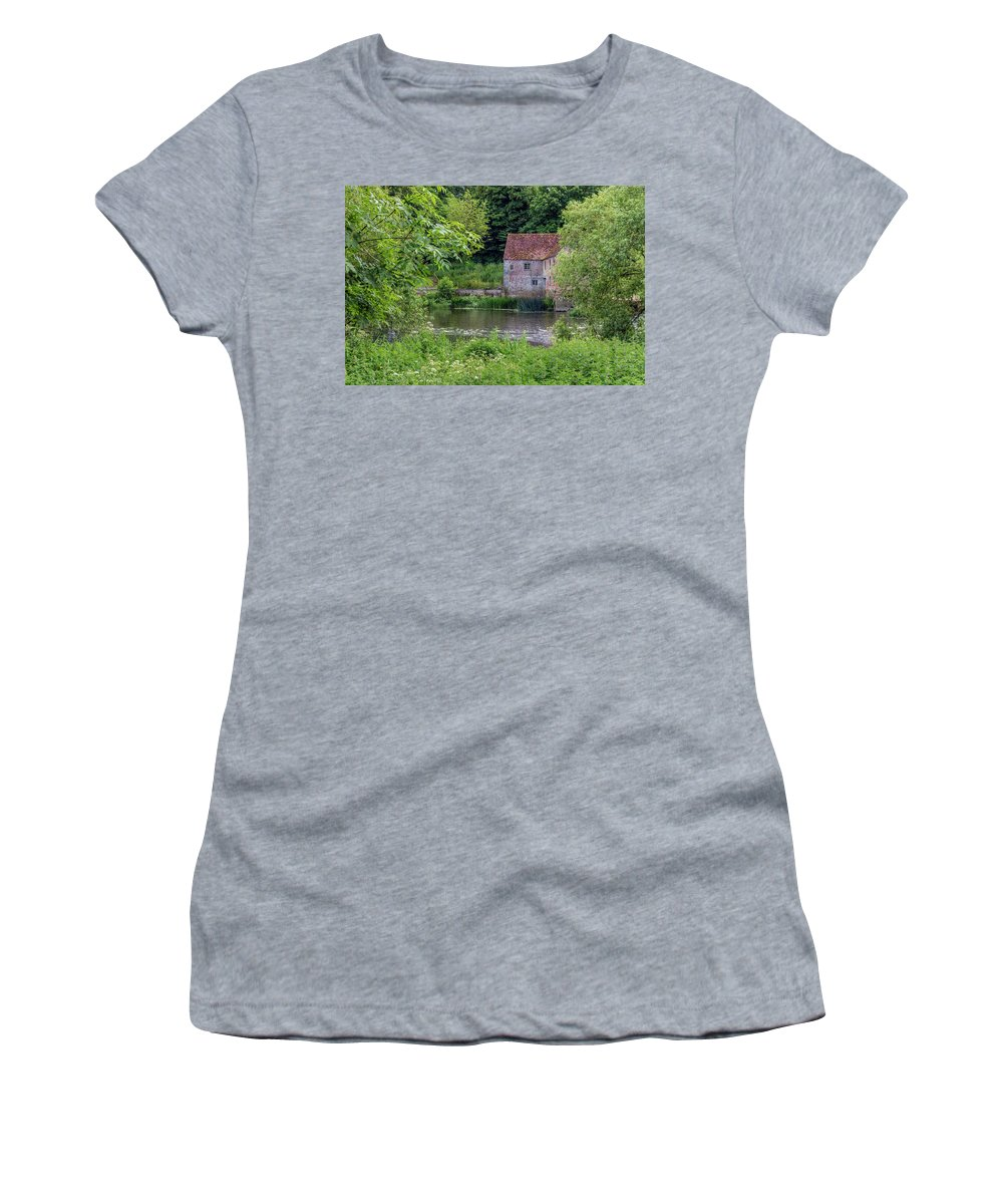 Sturminster Newton Mill Women's T-Shirt featuring the photograph Sturminster Newton Mill - England 9 by Joana Kruse