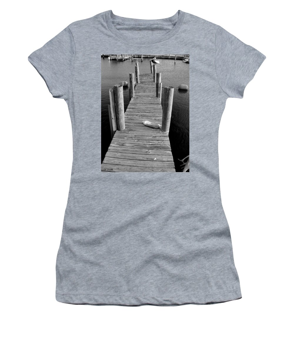 A Heavy Weight Women's T-Shirt (Athletic Fit) featuring the photograph A Heavy Weight by Ed Smith