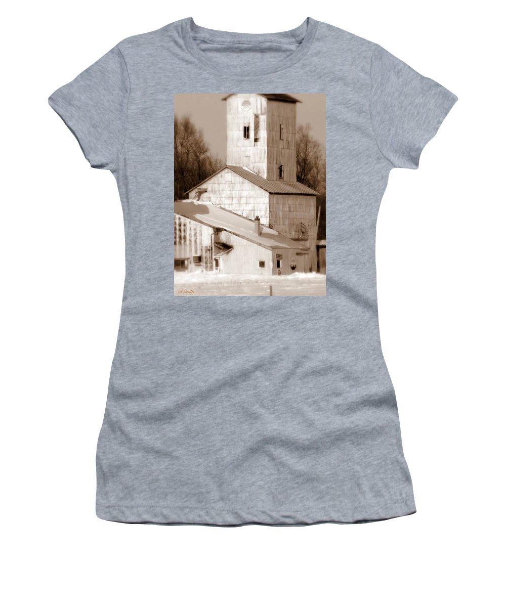 A Little Co-operation Please Women's T-Shirt (Athletic Fit) featuring the photograph A Little Co-operation Please by Ed Smith