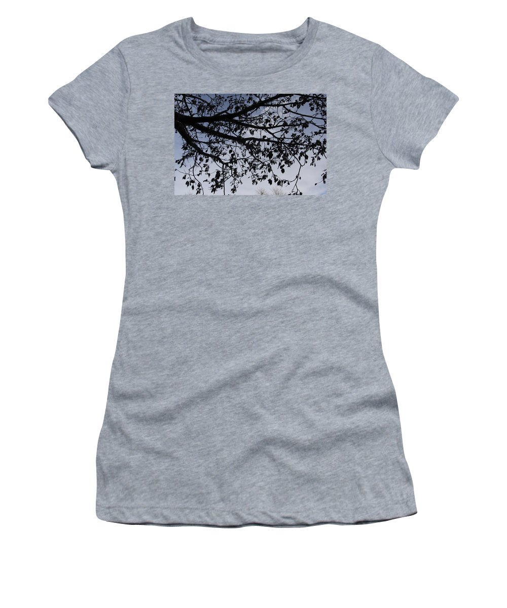 City Women's T-Shirt featuring the photograph Against The Sky by Gary Benson