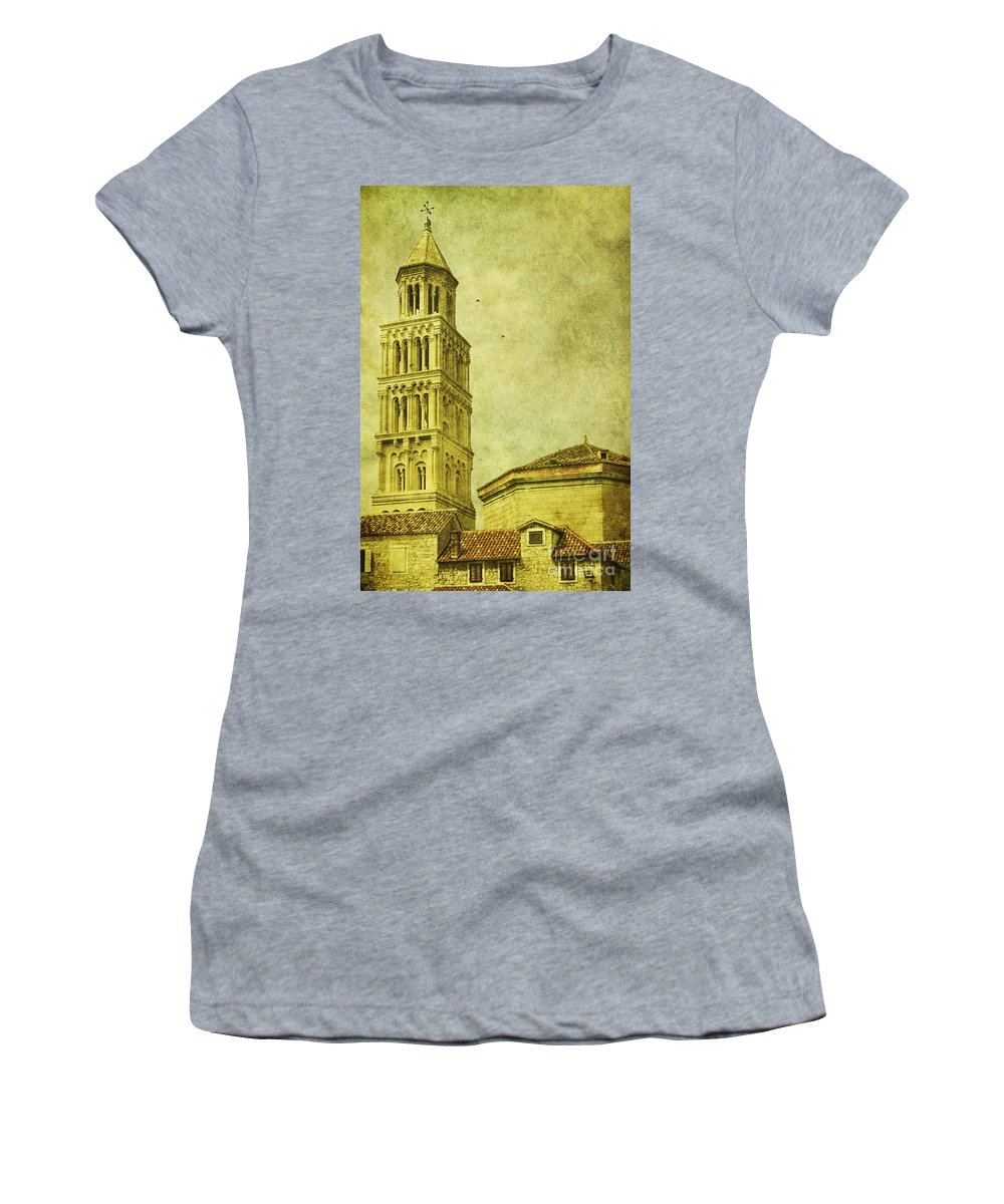 Split Women's T-Shirt featuring the photograph Ages Past by Andrew Paranavitana