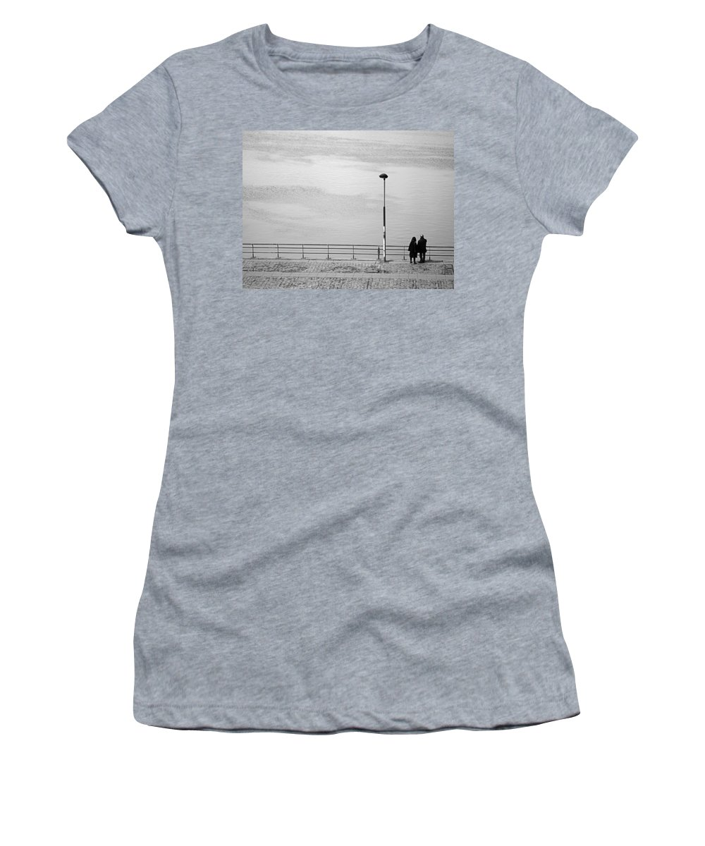 Buenos Aires Women's T-Shirt featuring the photograph Anytime by Osvaldo Hamer