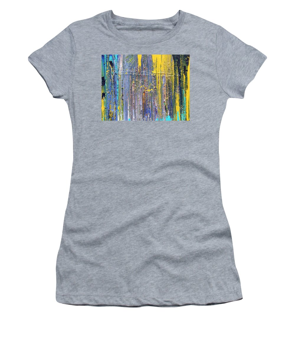 Fusionart Women's T-Shirt (Athletic Fit) featuring the painting Arachnid by Ralph White