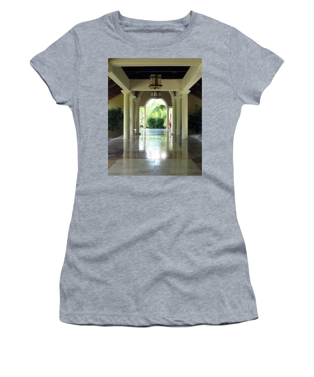 Women's T-Shirt featuring the photograph Arches by Bruce Gaynor