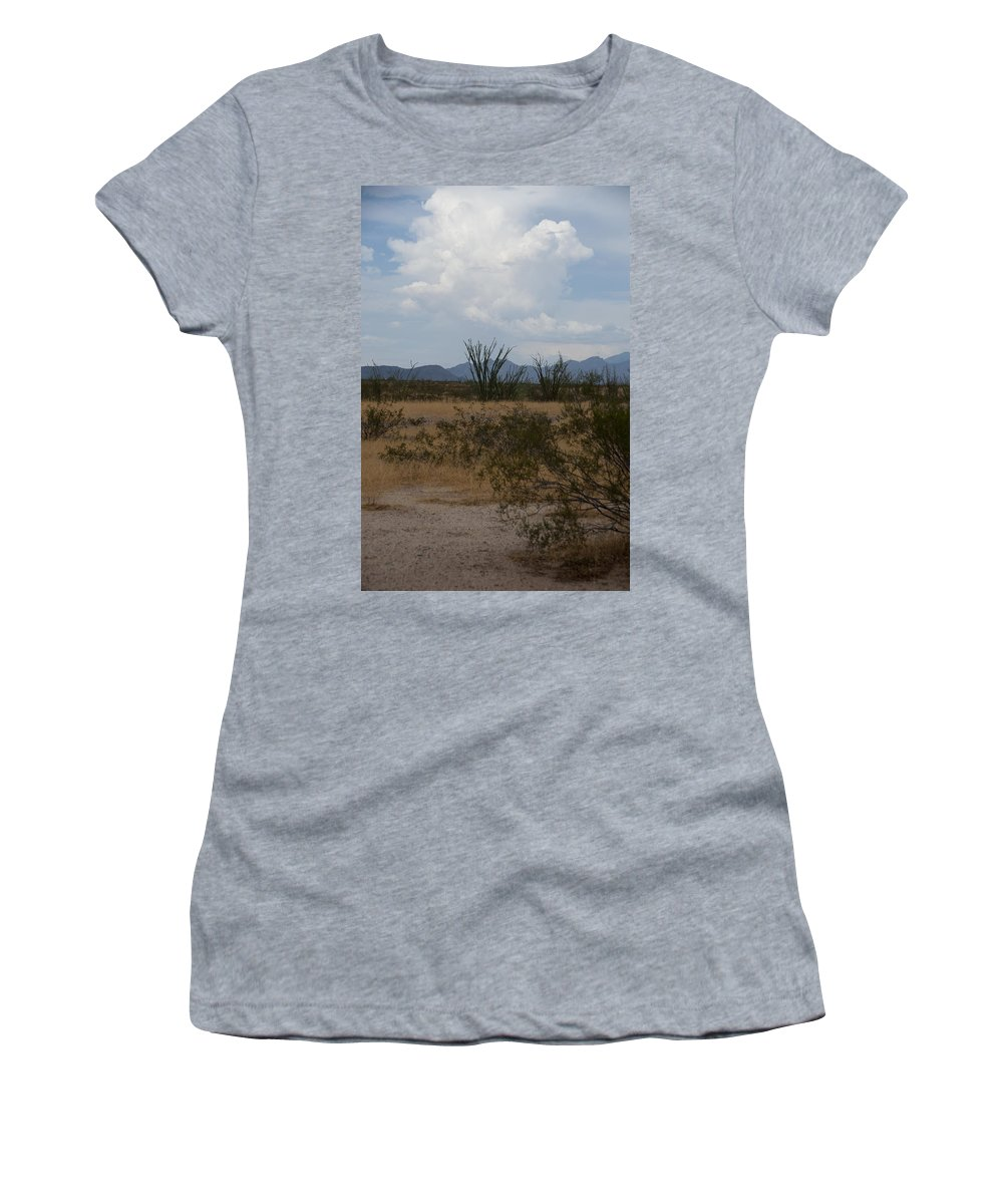 Arizona Women's T-Shirt (Athletic Fit) featuring the photograph Arizona Rest Stop by Steven Natanson