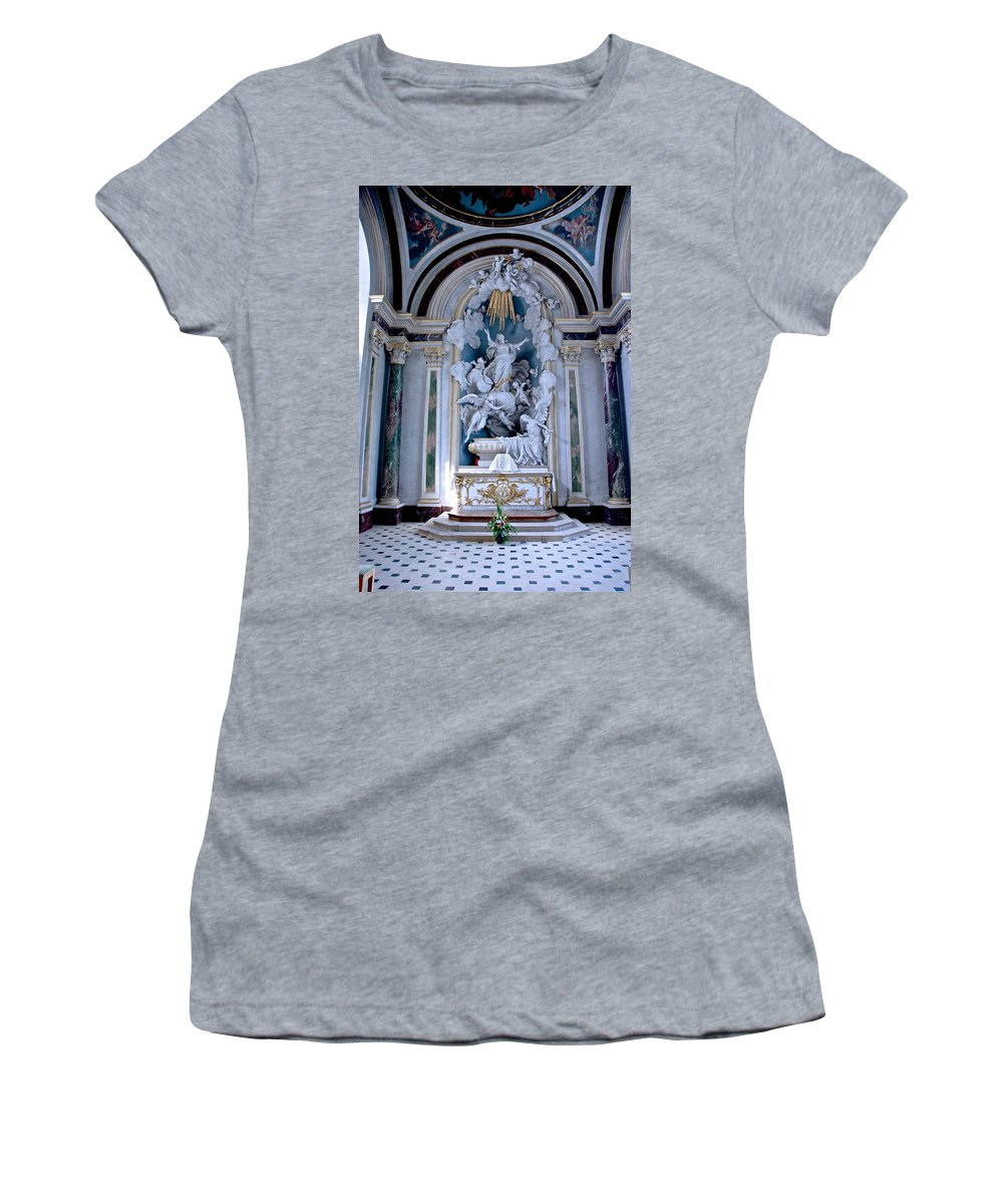 Catholic Women's T-Shirt featuring the photograph Assumption Of Mary by Eric Tressler