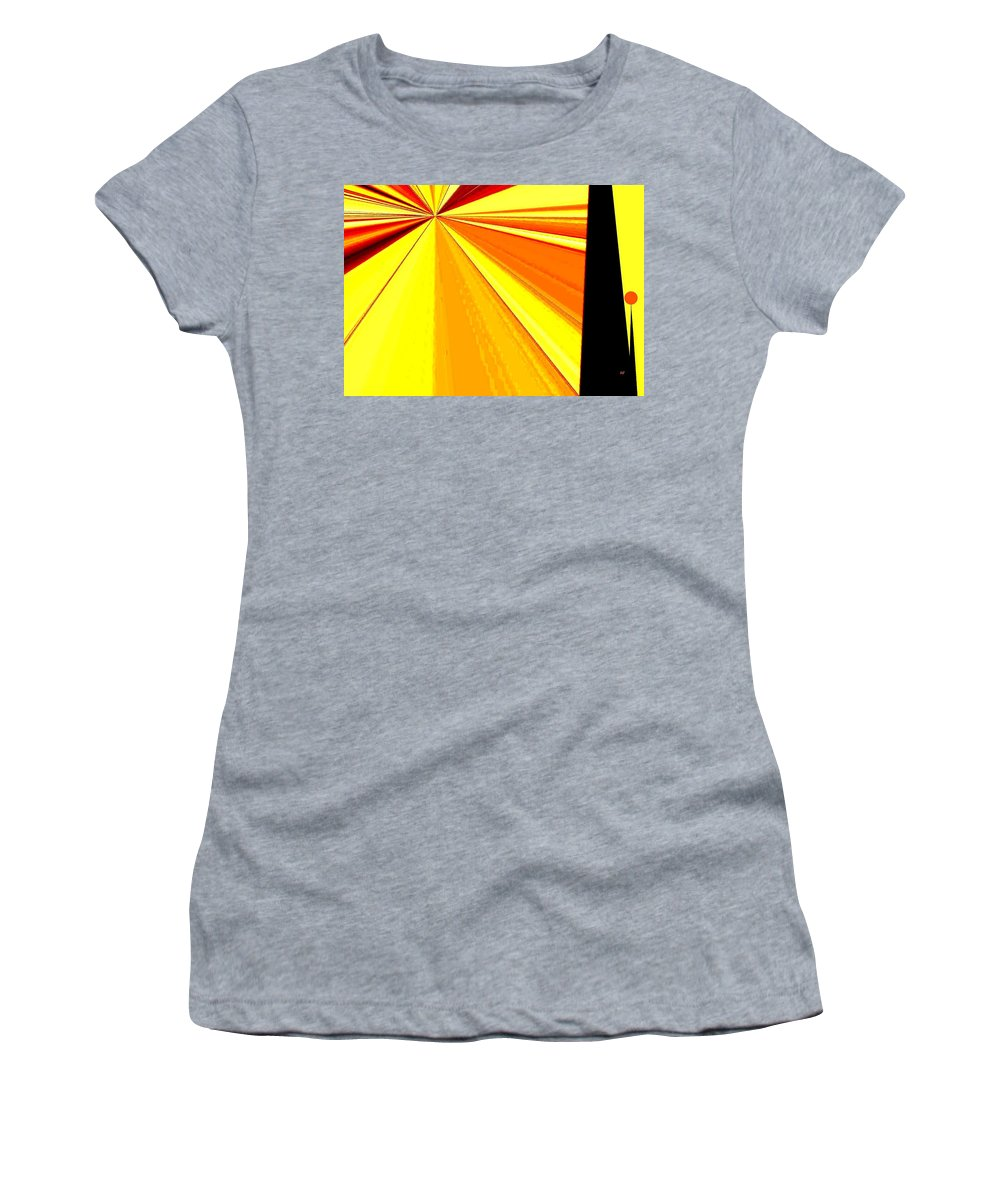 Balanced Women's T-Shirt (Athletic Fit) featuring the digital art Balanced by Will Borden