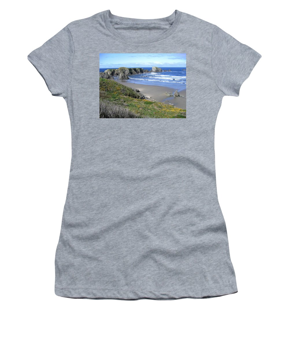Bandon Women's T-Shirt (Athletic Fit) featuring the photograph Bandon 8 by Will Borden