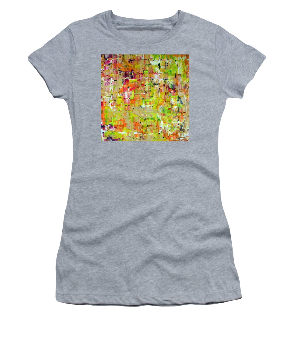 Banshee Women's T-Shirt (Athletic Fit) featuring the painting Banshee by Dawn Hough Sebaugh