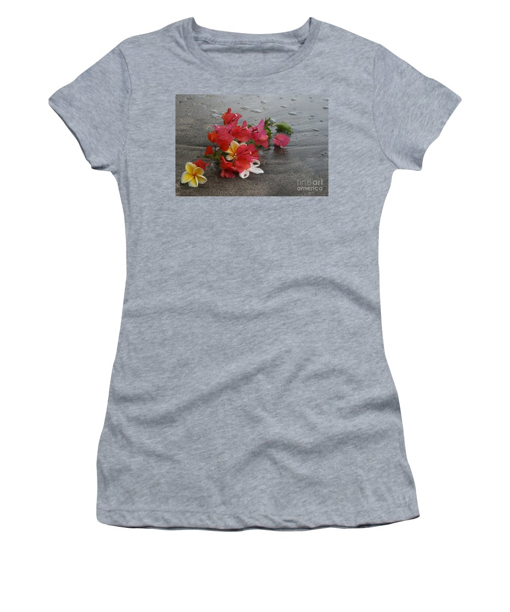 Aloha Women's T-Shirt (Athletic Fit) featuring the photograph Beauty Is Eternally Free by Sharon Mau