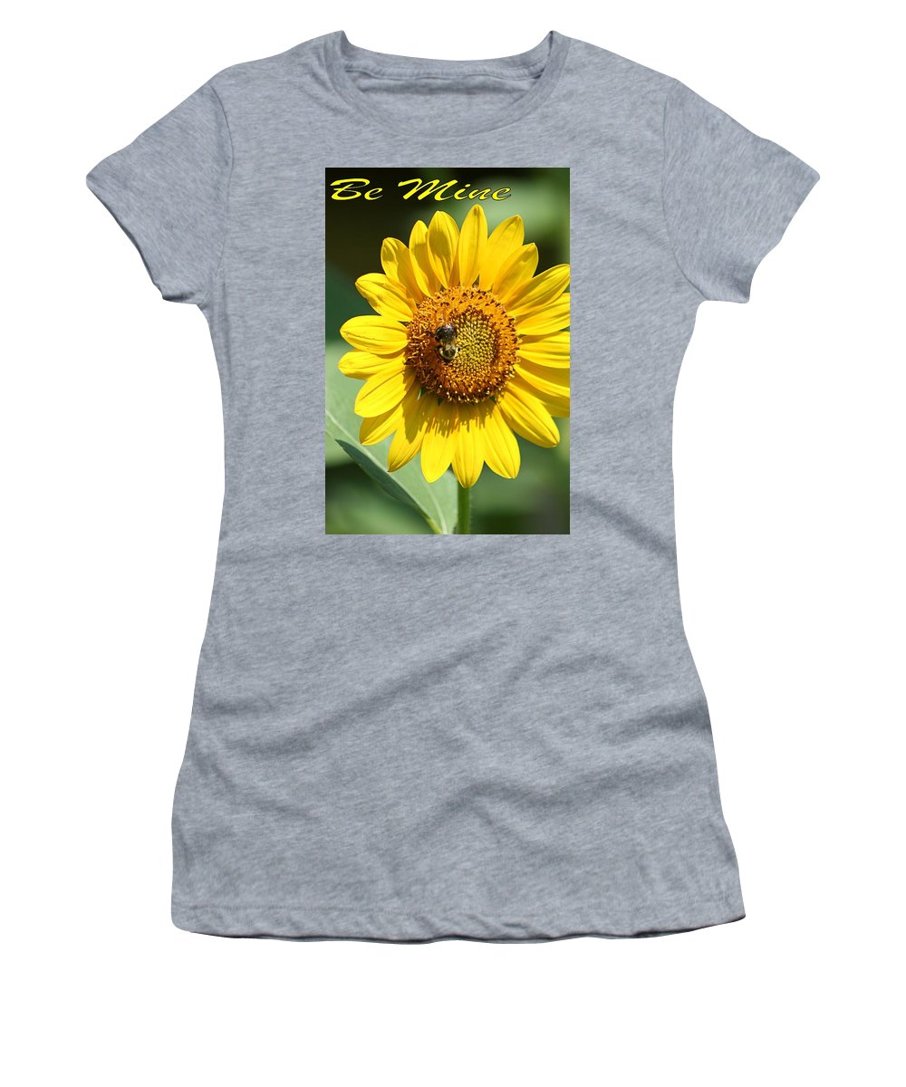 Bee Women's T-Shirt (Athletic Fit) featuring the photograph Bee Mine by DJ Florek