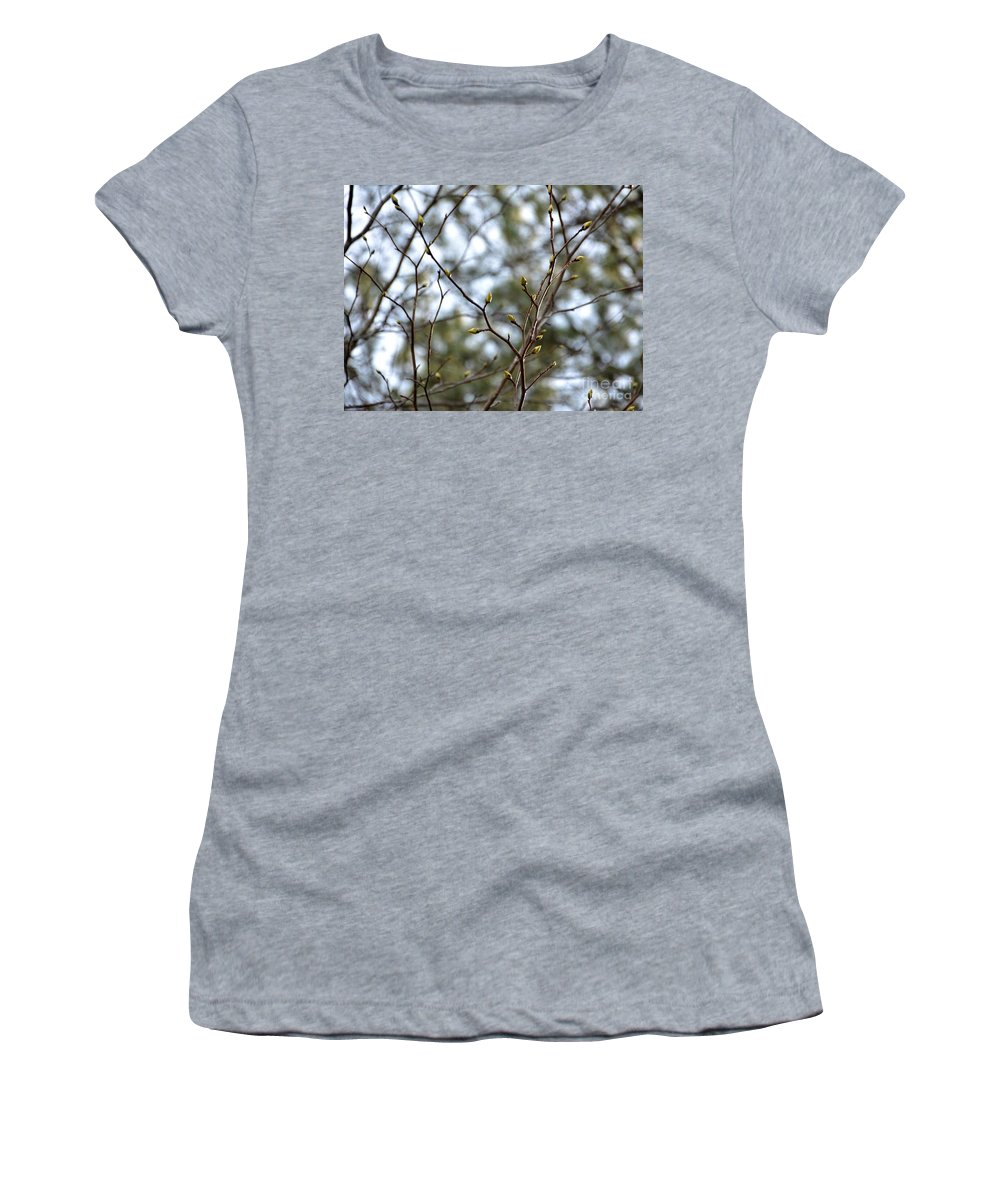 Adrian-deleon Women's T-Shirt (Athletic Fit) featuring the photograph Best Buds by Adrian DeLeon