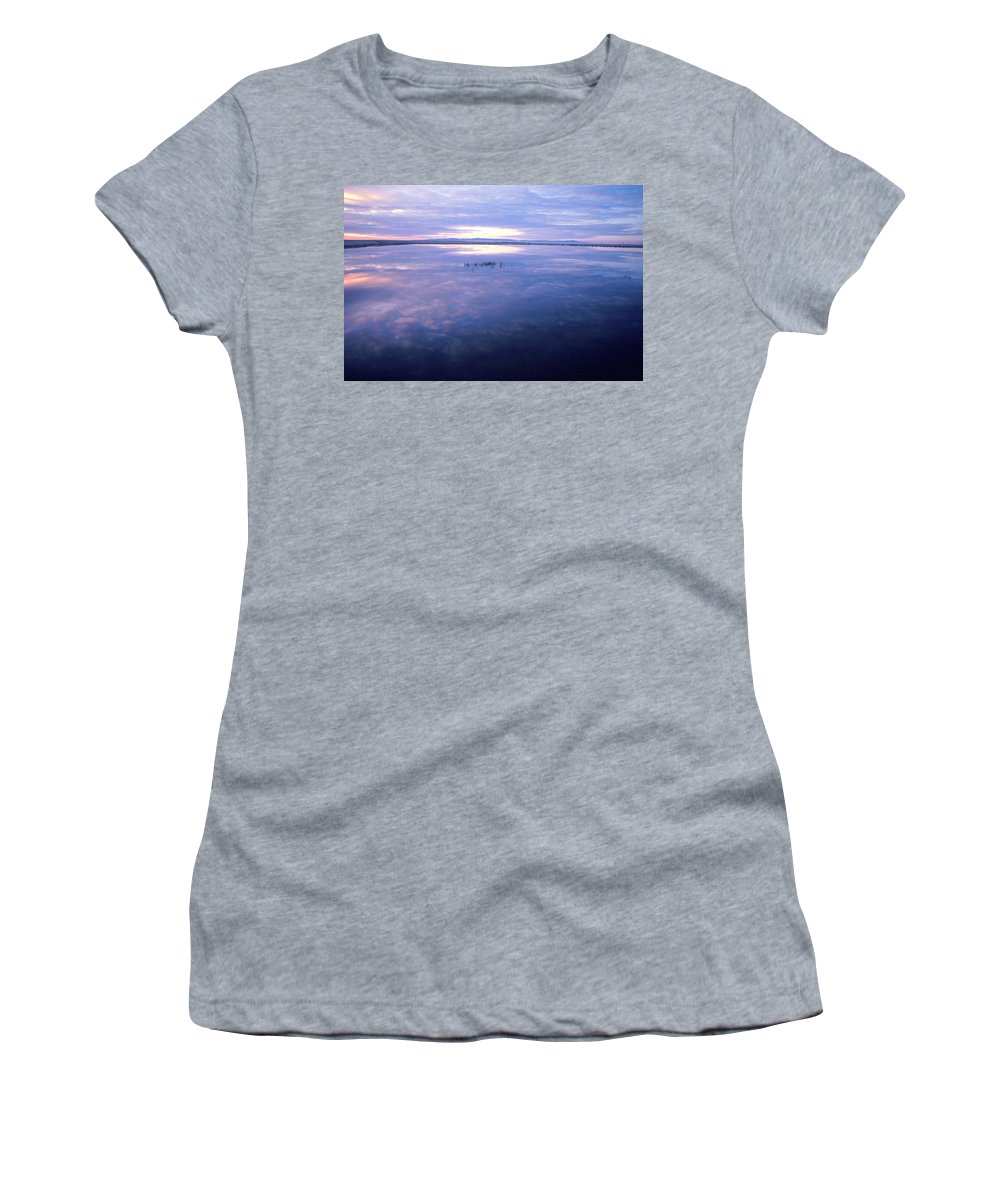 Water Women's T-Shirt featuring the photograph Blue Lagoon by Jerry McElroy