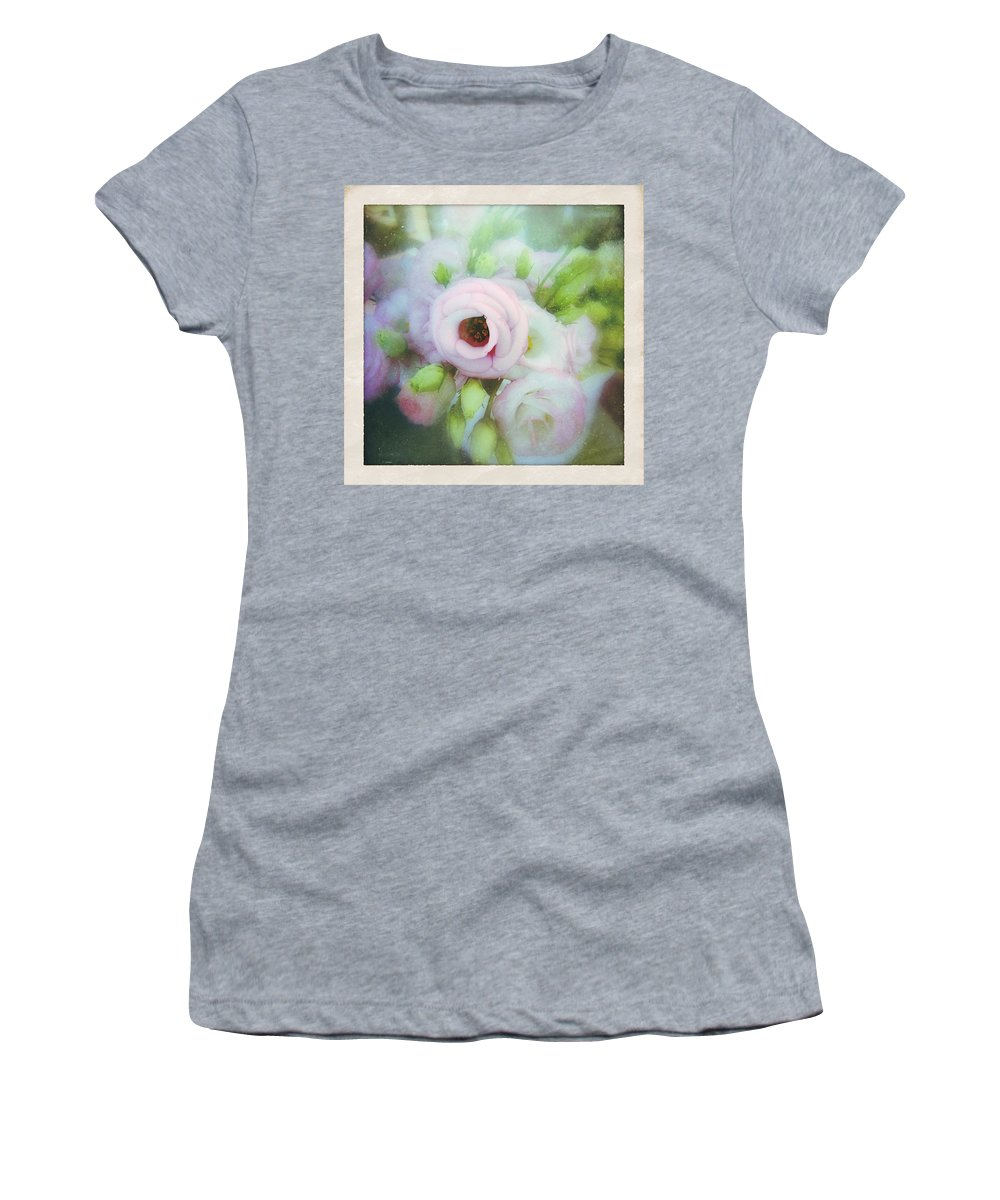 Flowers Women's T-Shirt (Athletic Fit) featuring the photograph Bouquet by Kate Zari Roberts