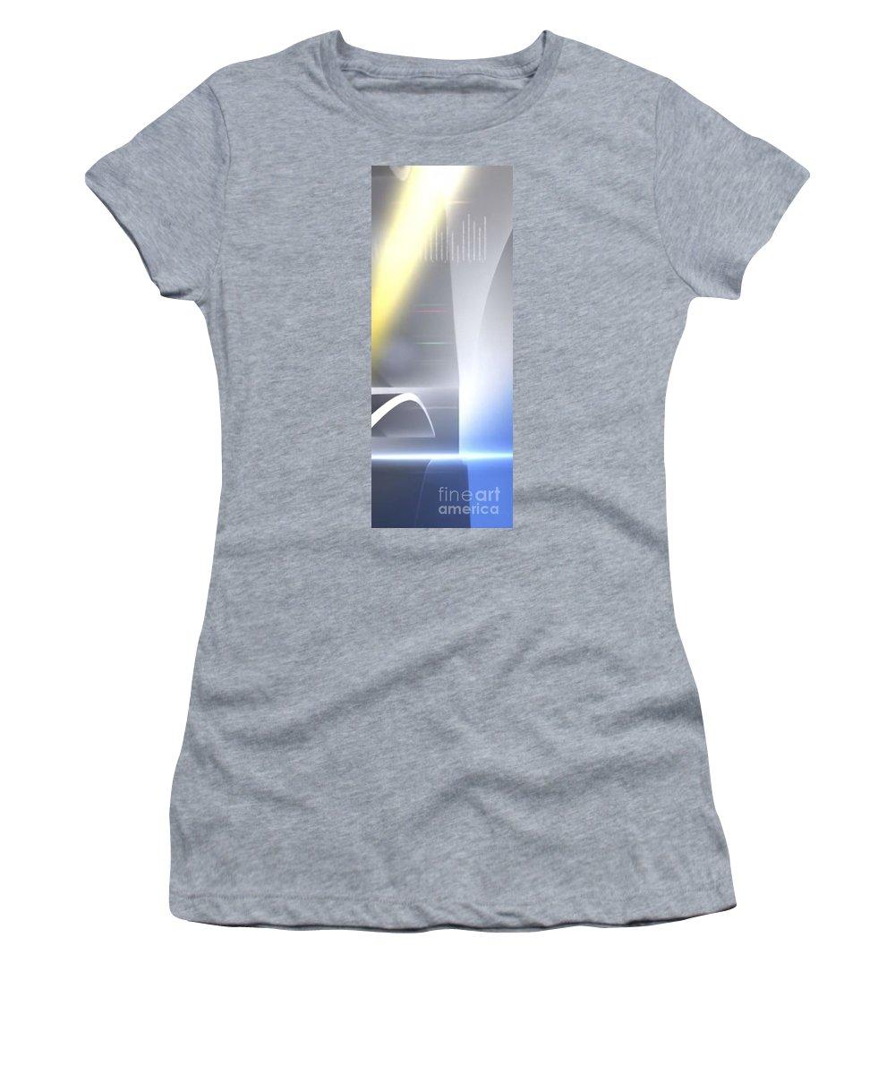 Brightness Women's T-Shirt featuring the digital art Brightness by Archangelus Gallery