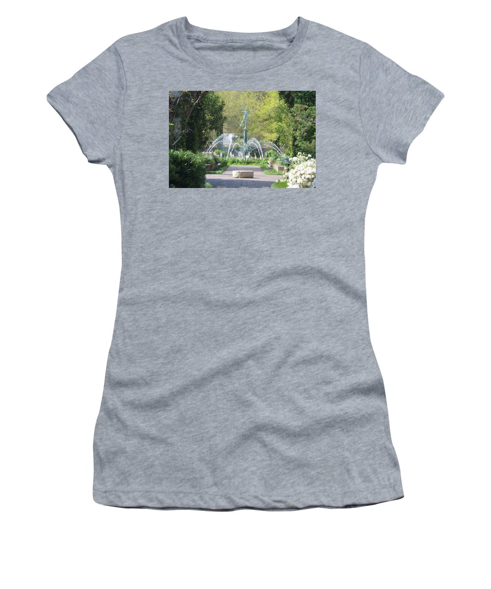 Brookgreen Gardens Women's T-Shirt (Athletic Fit) featuring the photograph Brookgreen Gardens 3 by Gordon Mooneyhan