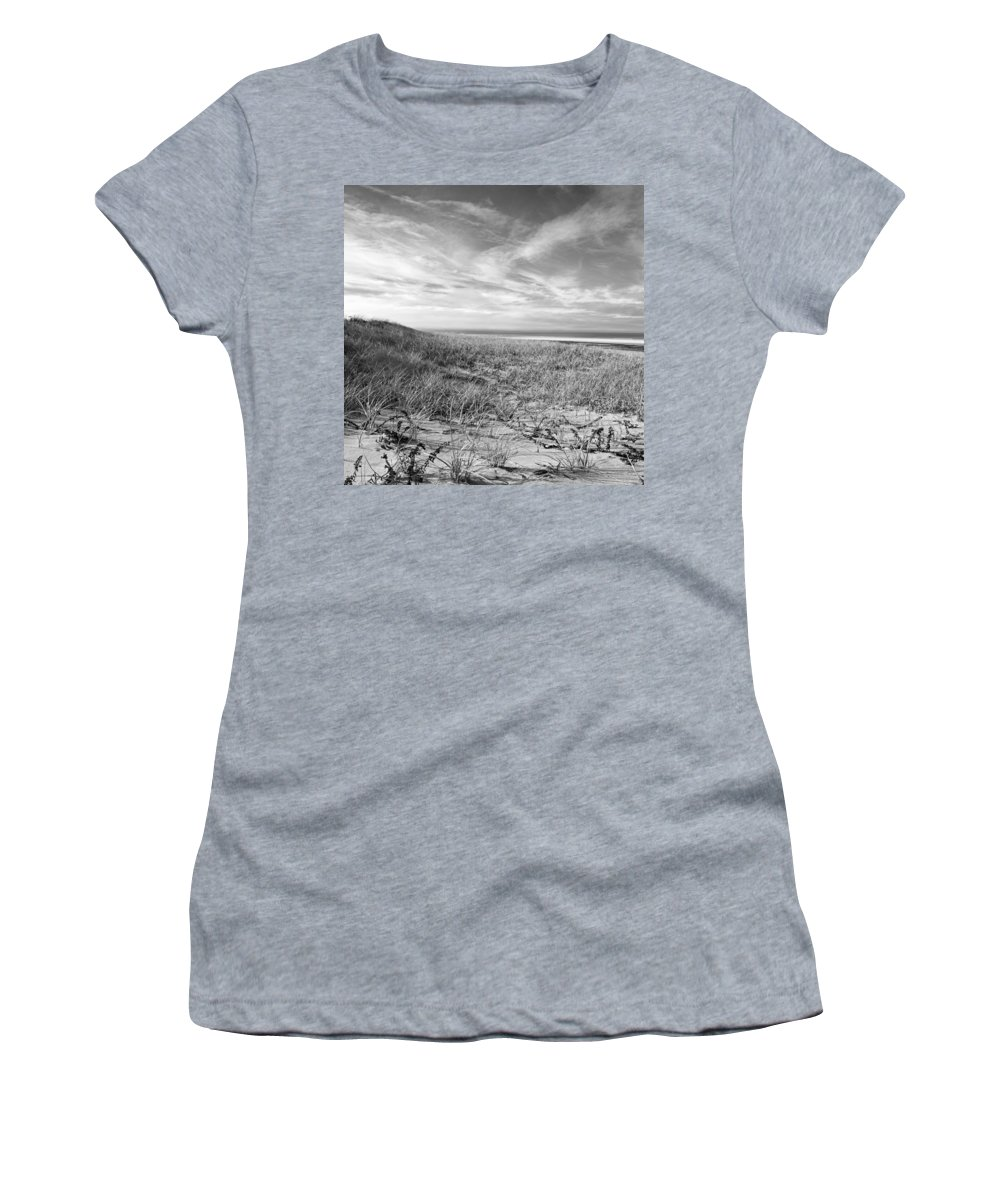 Sand Women's T-Shirt (Athletic Fit) featuring the photograph Bw10 by Charles Harden