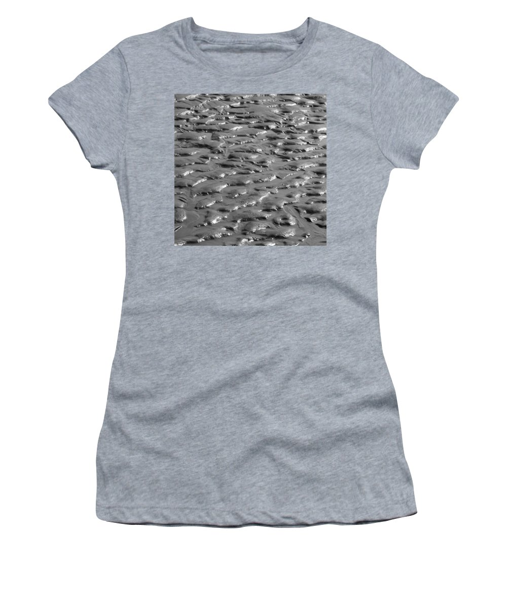 Sand Women's T-Shirt (Athletic Fit) featuring the photograph Bw11 by Charles Harden