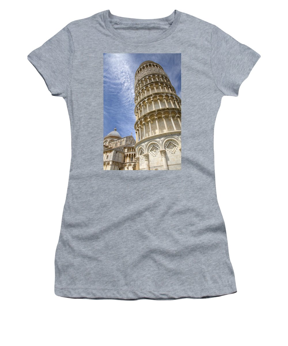 Italian Women's T-Shirt (Athletic Fit) featuring the photograph Campo Di Miracoli by Ian Middleton