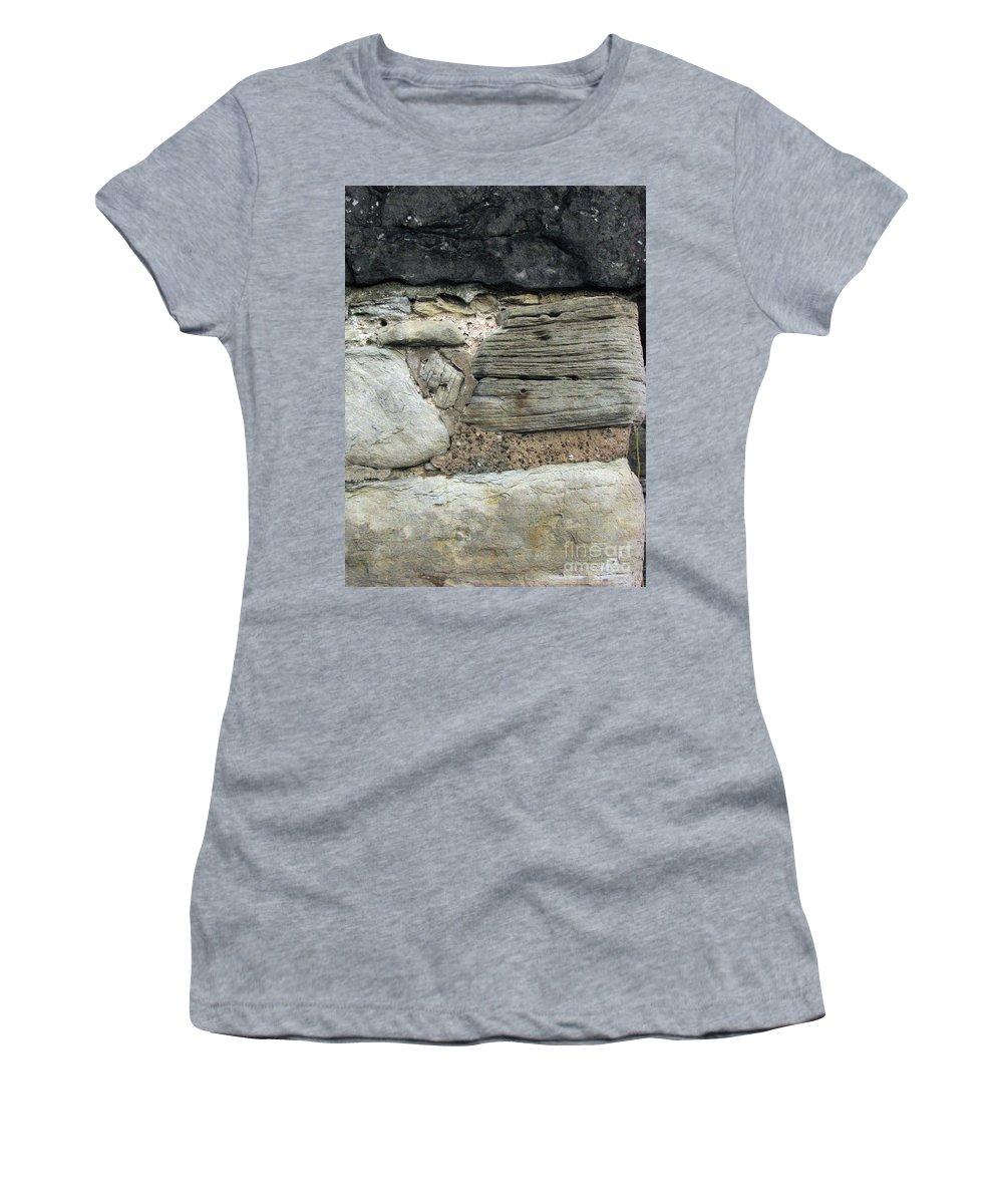 Castle Women's T-Shirt (Athletic Fit) featuring the photograph Castle Walls by Amanda Barcon