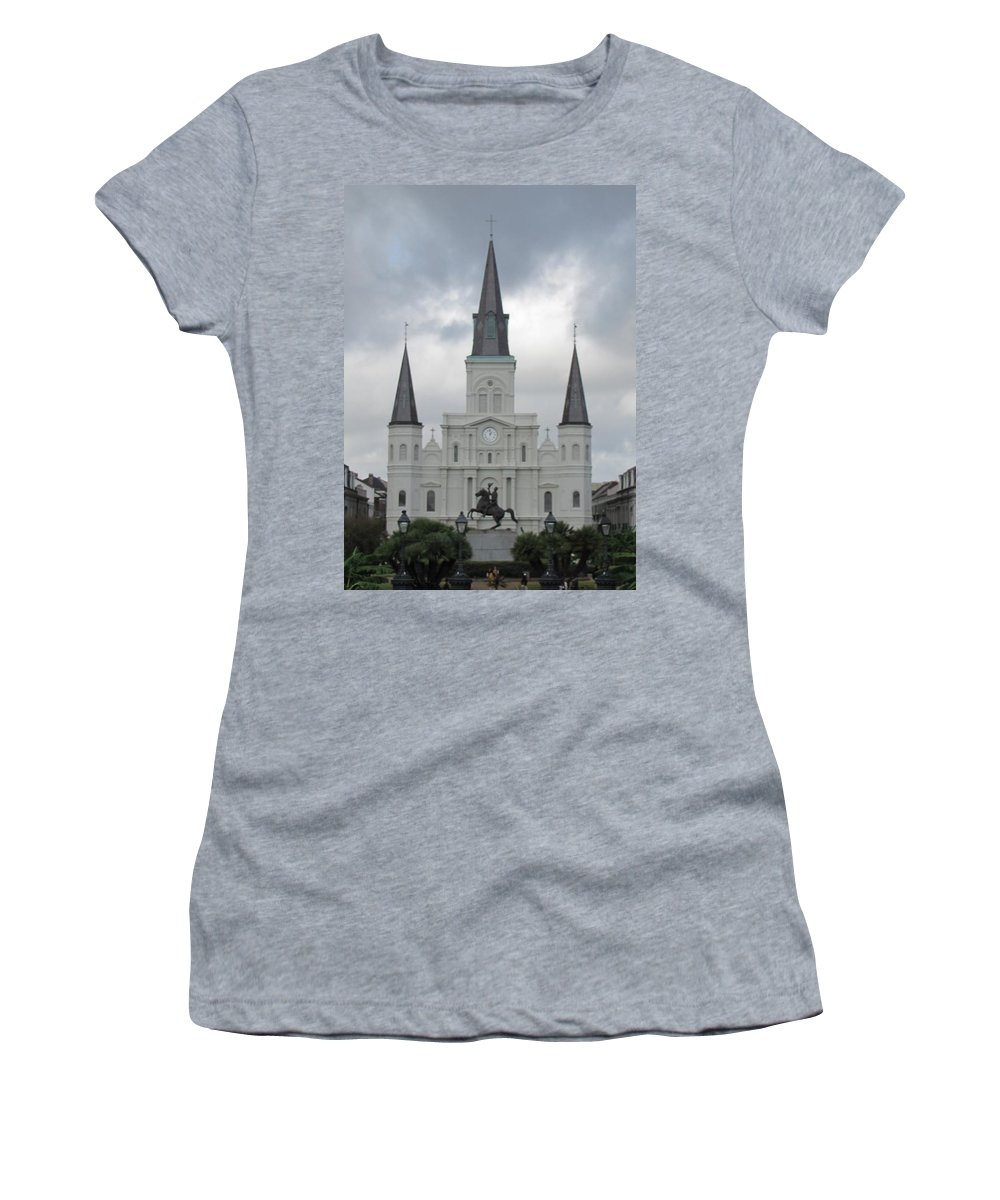 Church Women's T-Shirt (Athletic Fit) featuring the photograph Cathedral Church by Michelle Powell