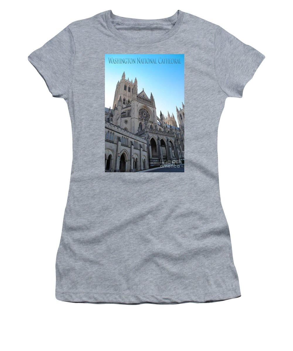Washington Women's T-Shirt featuring the photograph Cathedral Travel by Jost Houk
