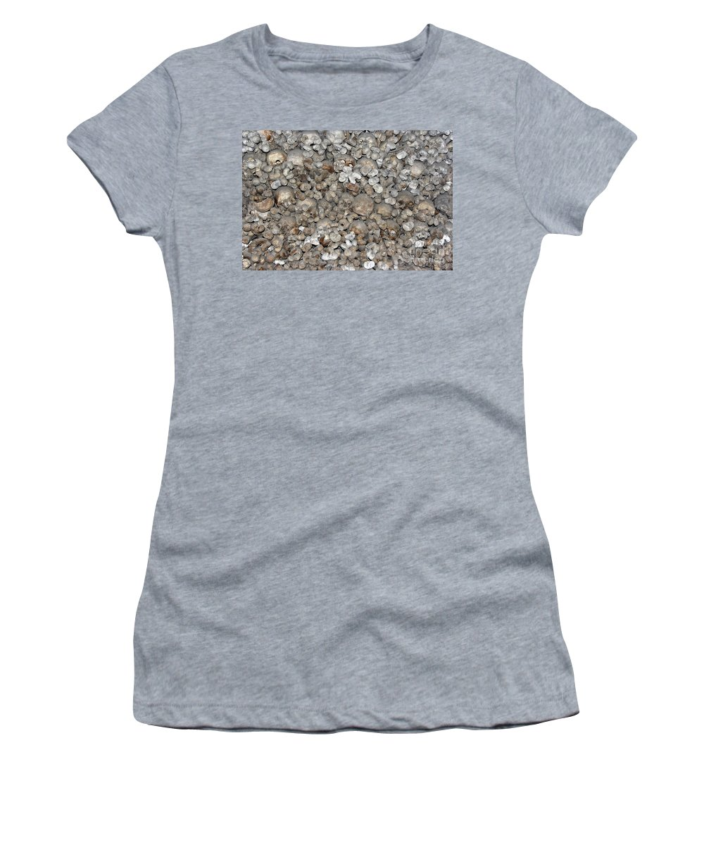 Charnel House Women's T-Shirt (Athletic Fit) featuring the photograph Charnel House by Michal Boubin