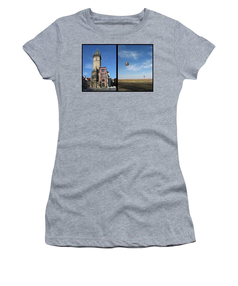 Church Women's T-Shirt featuring the photograph Church by James W Johnson