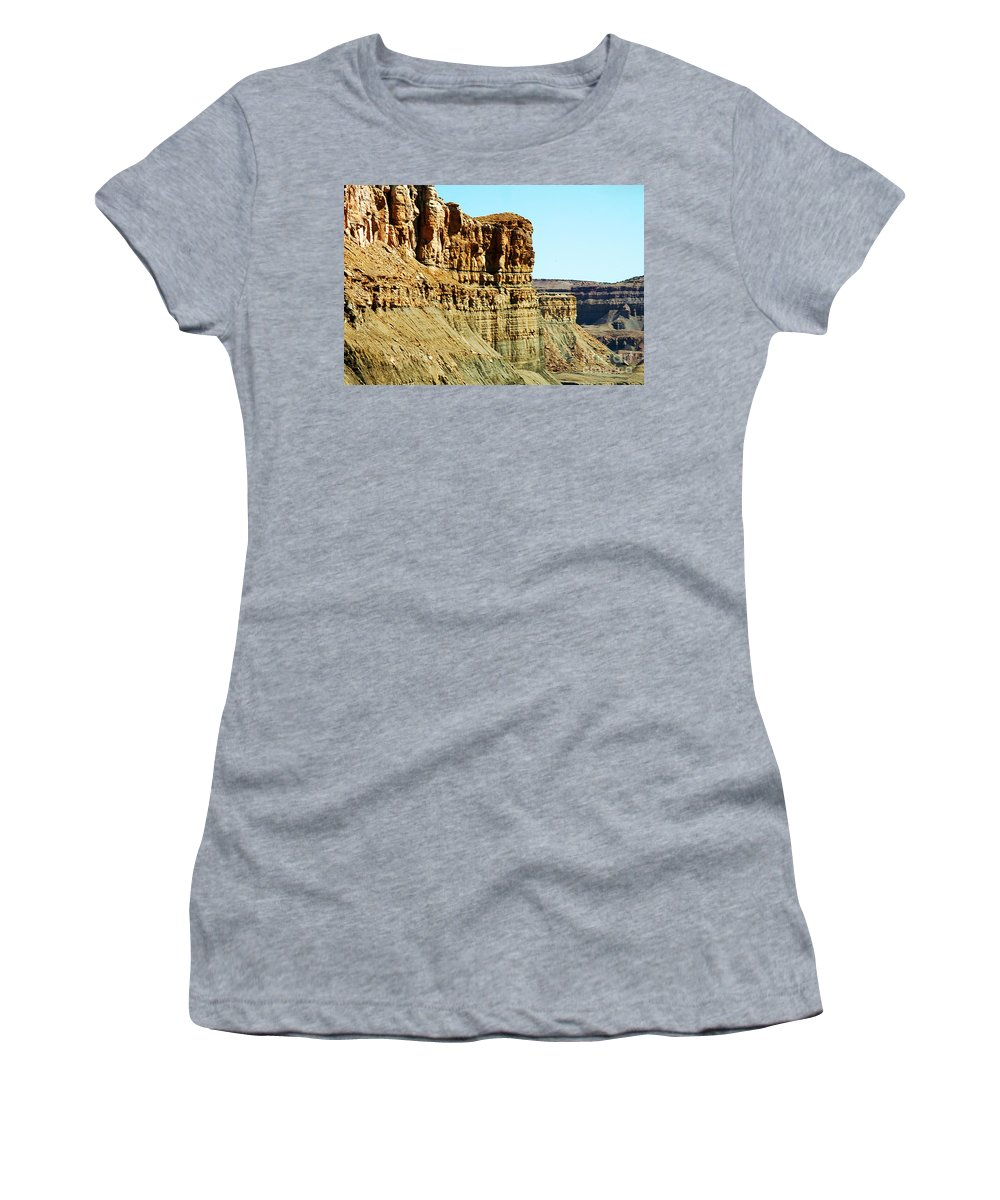 Clay Women's T-Shirt (Athletic Fit) featuring the photograph Colorado Scenic by Clayton Bruster