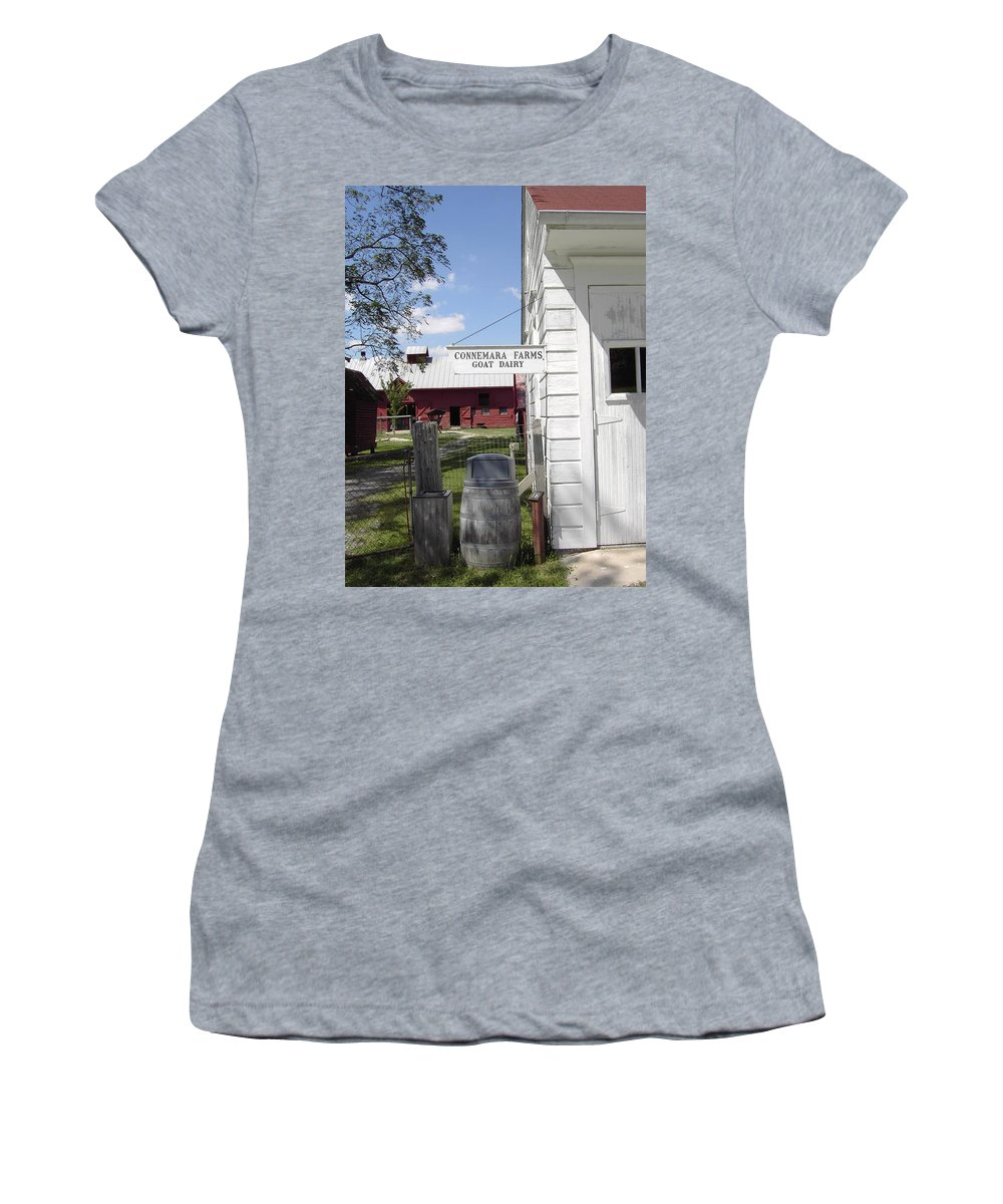 Connemara Flat Rock North Carolina Women's T-Shirt (Athletic Fit) featuring the photograph Connemara Flat Rock North Carolina by Flavia Westerwelle