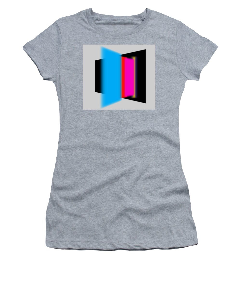 Constructivism Women's T-Shirt featuring the painting Construction by Charles Stuart