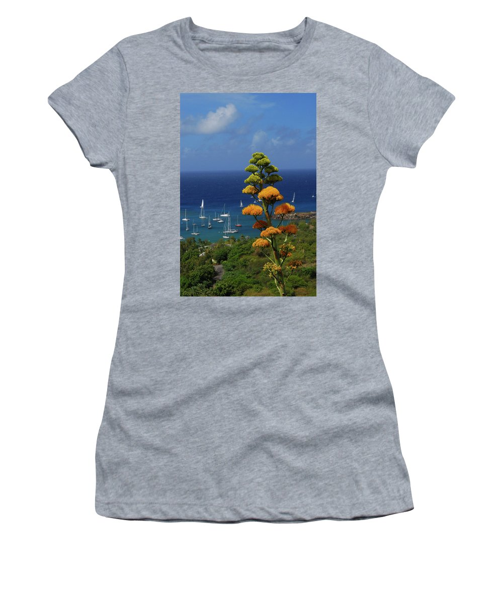 Caribbean Islands Women's T-Shirt featuring the photograph Daggers Los by Gary Wonning