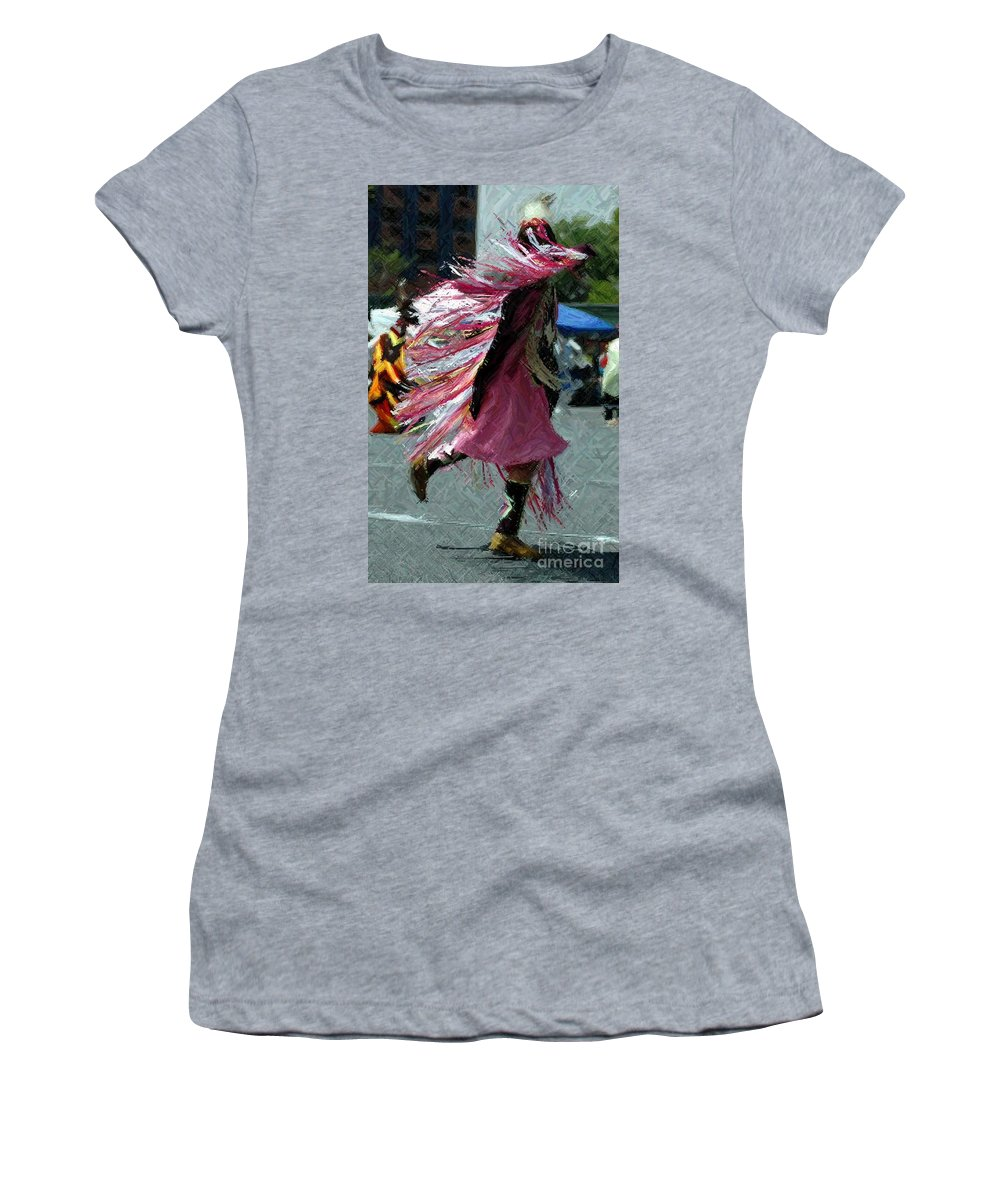 Young Women's T-Shirt featuring the photograph Dancing by Kathleen Struckle