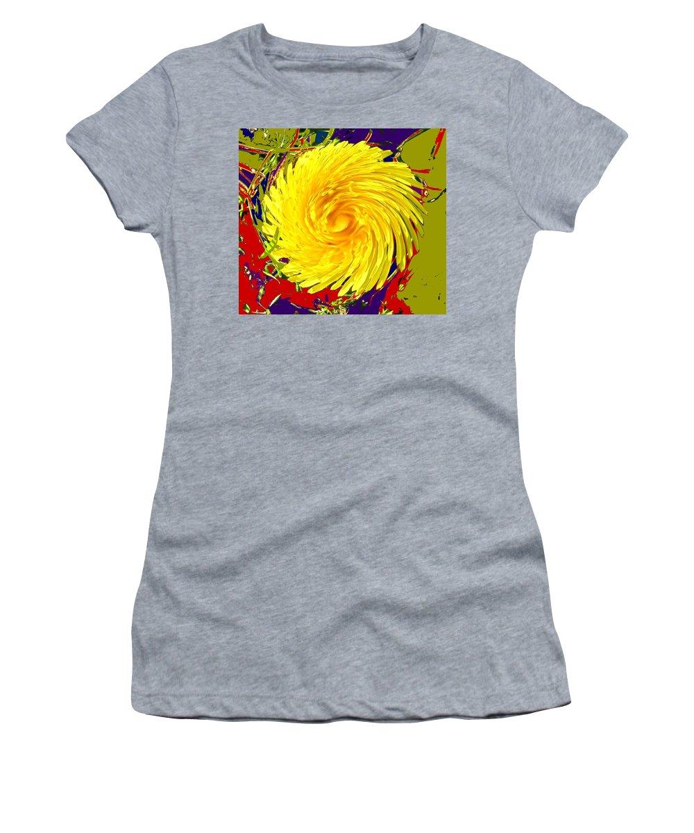 Flower Women's T-Shirt featuring the photograph Dandy Three by Ian MacDonald