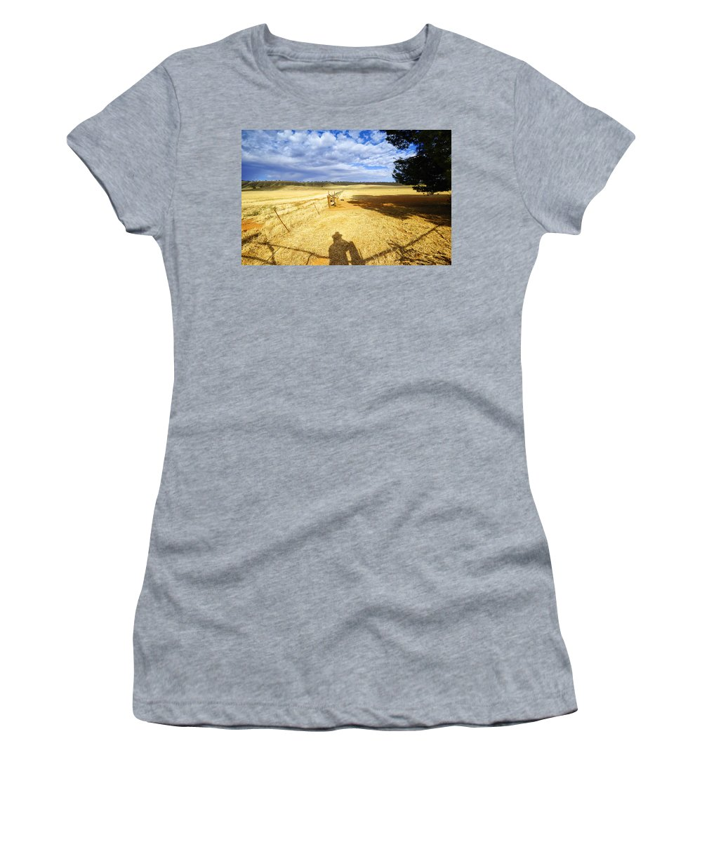 Landscape Women's T-Shirt featuring the photograph Day Dreaming by Wayne Sherriff