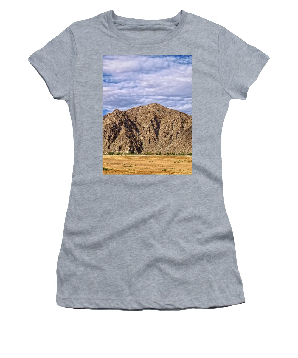 Desert Oasis Women's T-Shirt featuring the photograph Desert Oasis by Dominic Piperata
