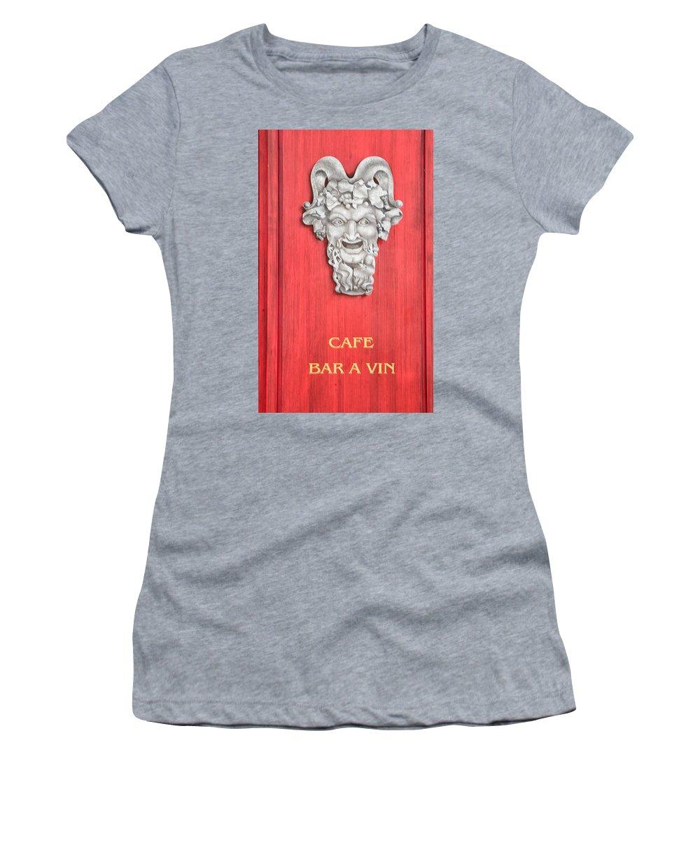 Devil Women's T-Shirt featuring the photograph Devil Sculpture by Dave Mills