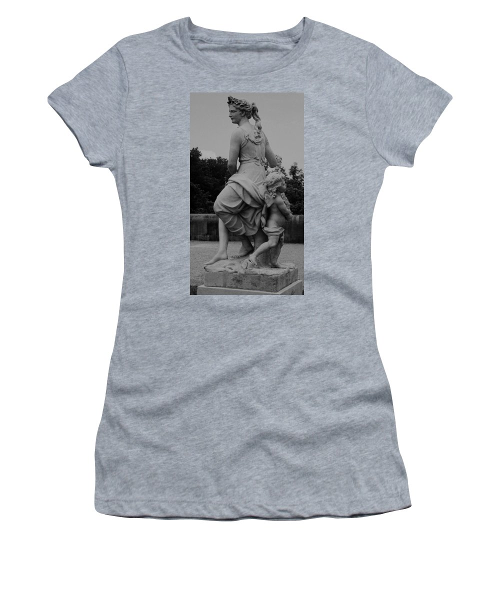 Figurative Women's T-Shirt (Athletic Fit) featuring the painting Diana by Eric Schiabor