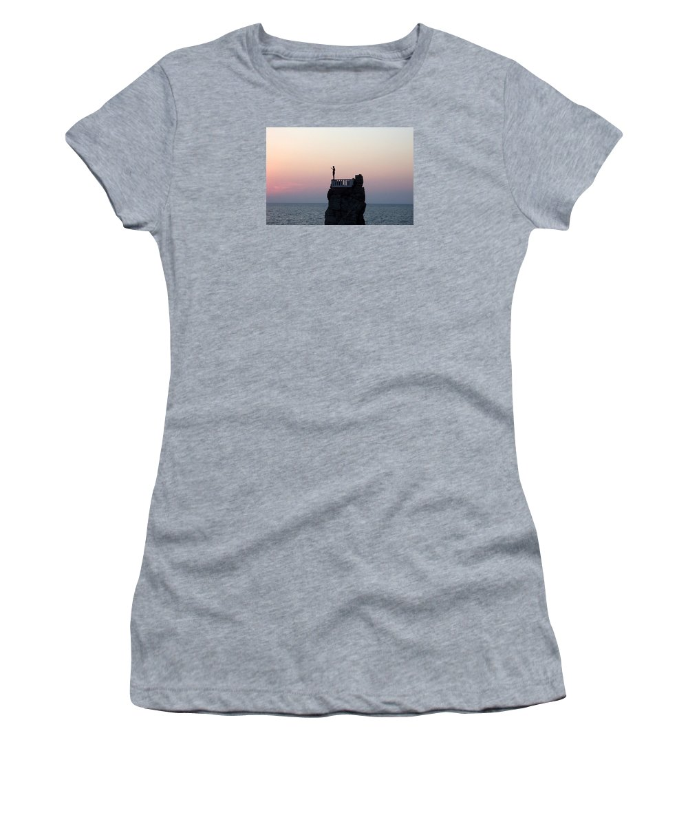 Mexico Women's T-Shirt (Athletic Fit) featuring the photograph Diver by Linda Chambers