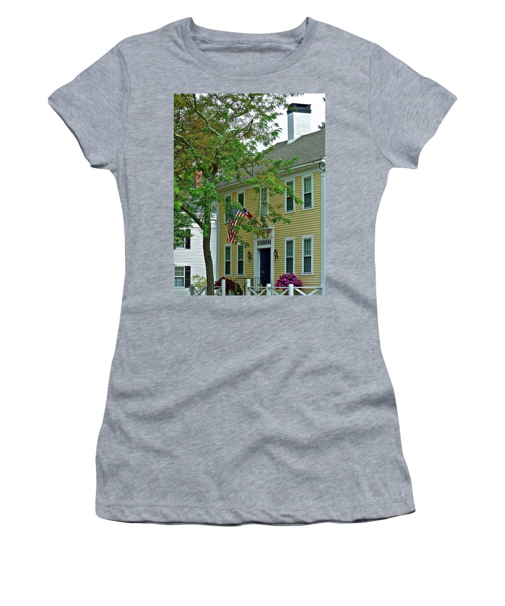 House Women's T-Shirt (Athletic Fit) featuring the photograph Doll House by Diana Hatcher