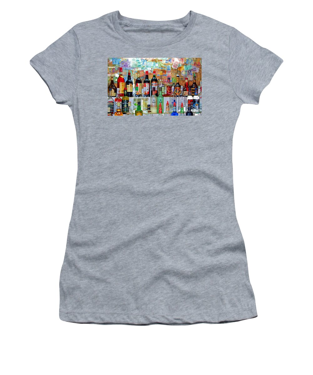 Liquor Women's T-Shirt featuring the photograph Don Q by Debbi Granruth