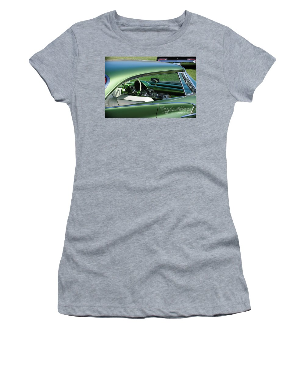 34 Th Annual Westcoast Kustoms Cruising Nationals Women's T-Shirt featuring the photograph Dream Boat by Customikes Fun Photography and Film Aka K Mikael Wallin