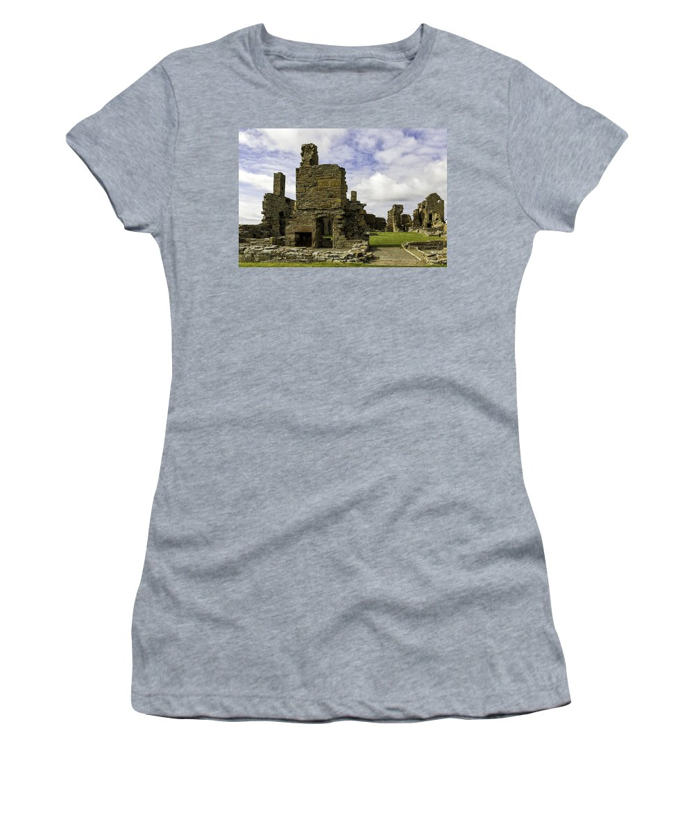 Earl Women's T-Shirt featuring the photograph Earl's Palace by Fran Gallogly