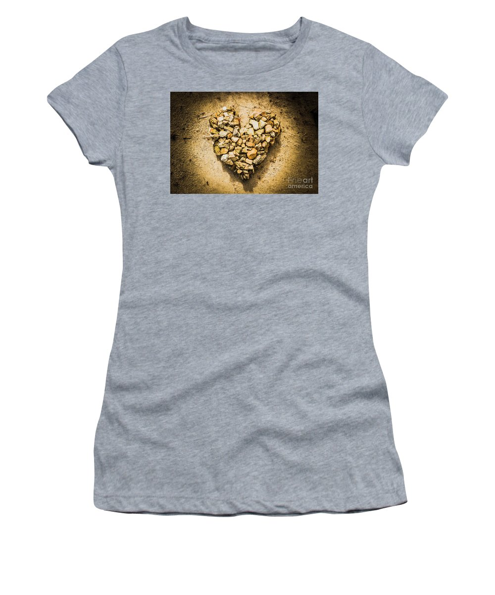 Heart Women's T-Shirt featuring the photograph Earthly Togetherness by Jorgo Photography - Wall Art Gallery