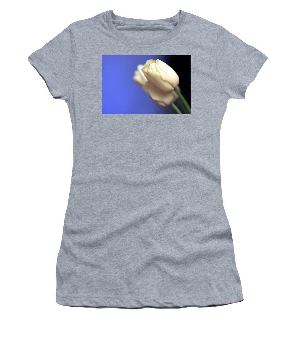 Tulip Women's T-Shirt (Athletic Fit) featuring the photograph Elegance by Evelina Kremsdorf
