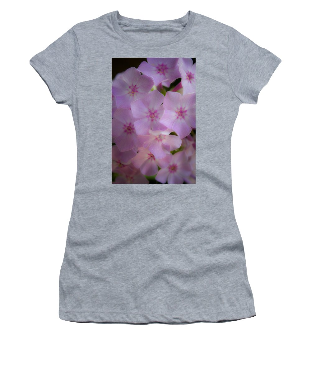 Phlox Women's T-Shirt (Athletic Fit) featuring the photograph Fairy Tale Phlox by Teresa Mucha