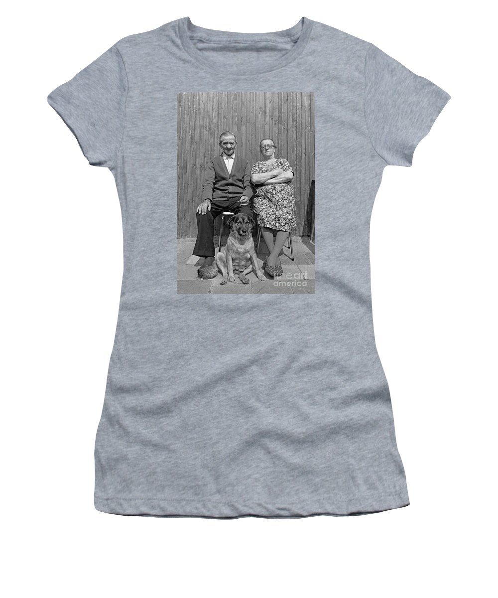 Retired Women's T-Shirt (Athletic Fit) featuring the photograph Family by Casper Cammeraat