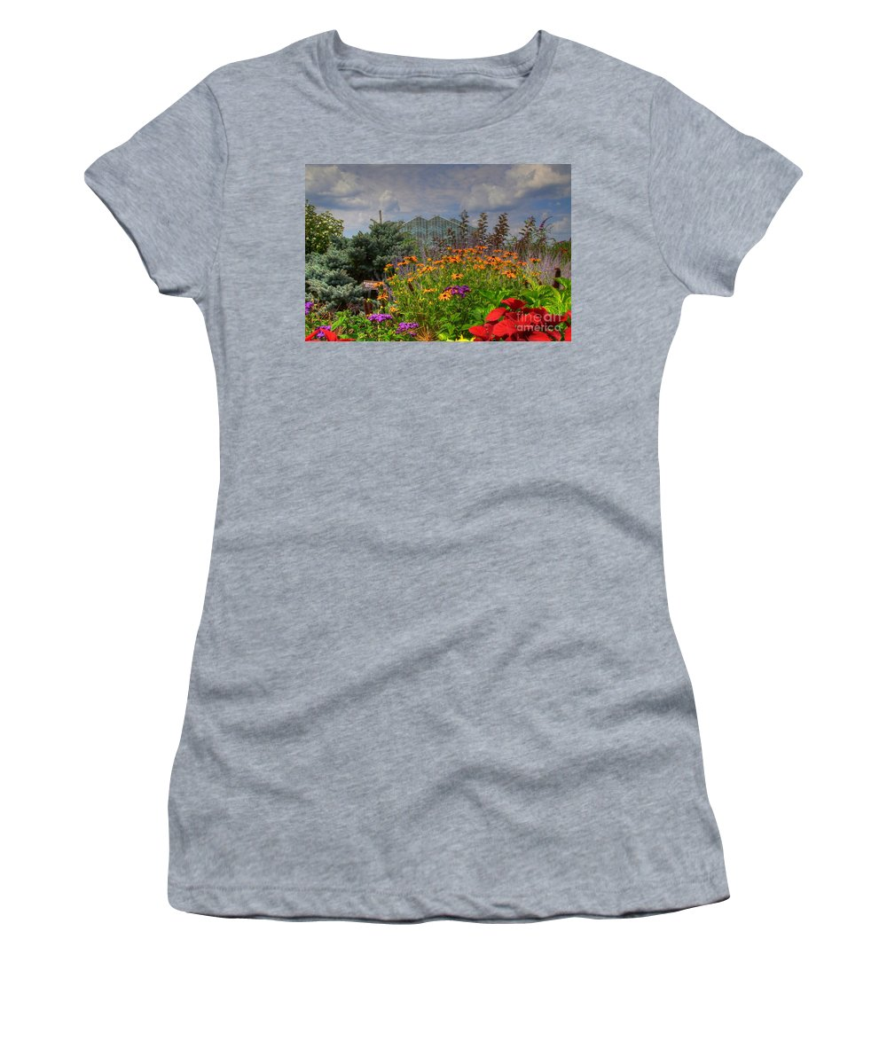 Frederik Meijer Gardens Women's T-Shirt (Athletic Fit) featuring the photograph Frederik Meijer Gardens-4 by Robert Pearson