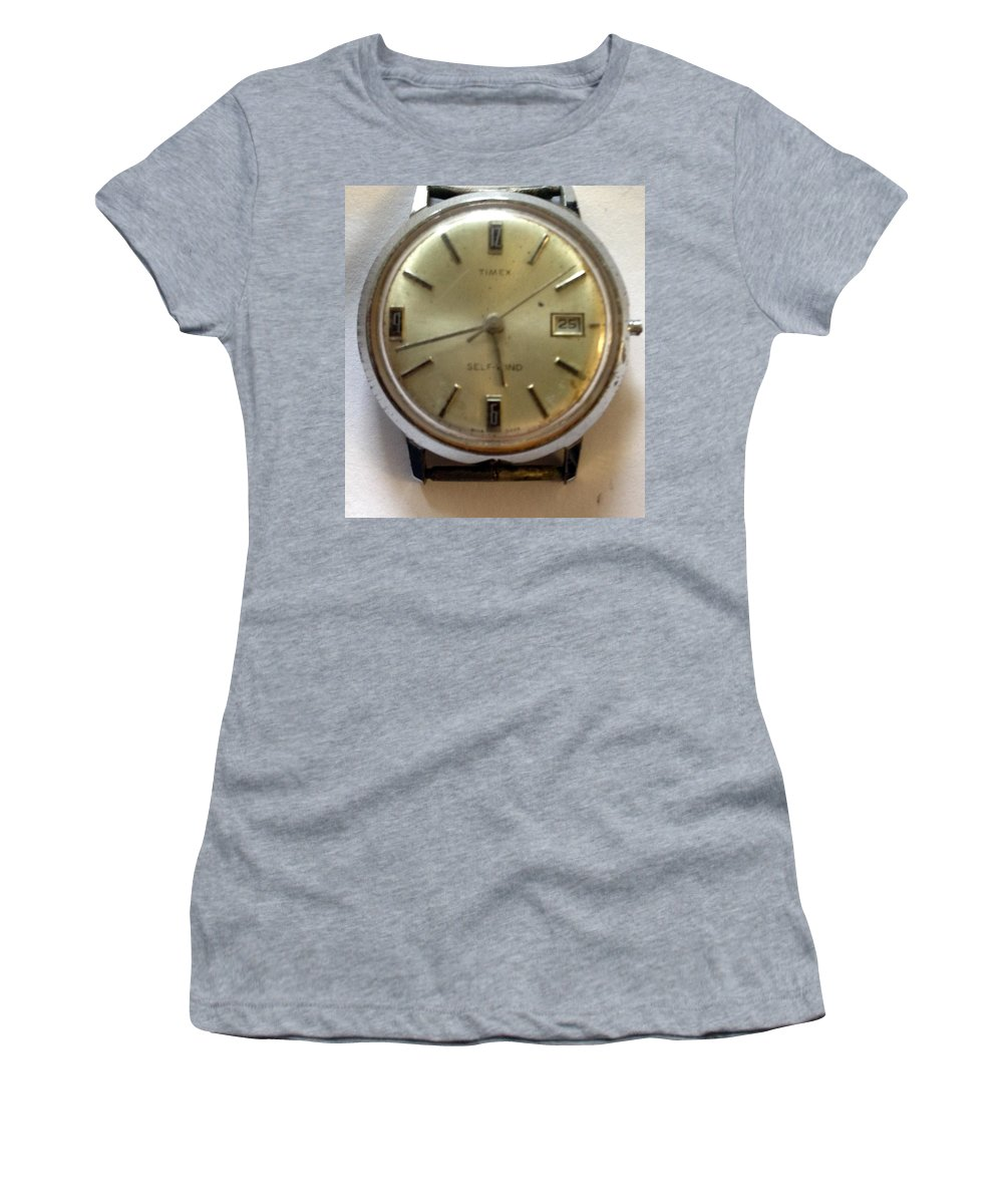 Women's T-Shirt featuring the photograph Frozen In Time by Lost Zone